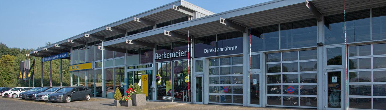 Opel Berkemeier-Münster,Saerbeck,Greven-Standort in Greven seitlich