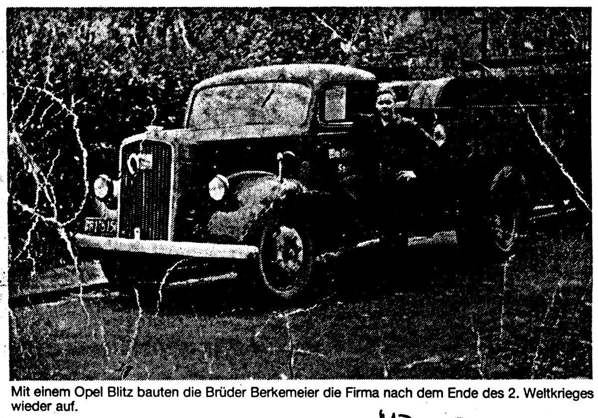 Opel Berkemeier-Münster,Saerbeck,Greven-Bild Historie Opel Blitz