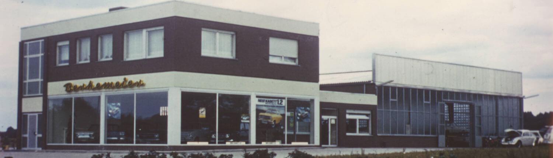 Opel Berkemeier-Münster,Saerbeck,Greven-Bild Historie des Standortes