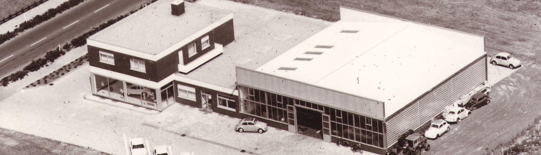 Opel Berkemeier-Münster,Saerbeck,Greven-Bild Historie des Standortes von oben